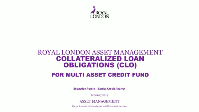 Multi asset credit update: collateralized loan obligations (CLO)