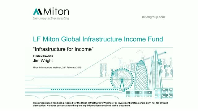 Infrastructure for Income Webinar