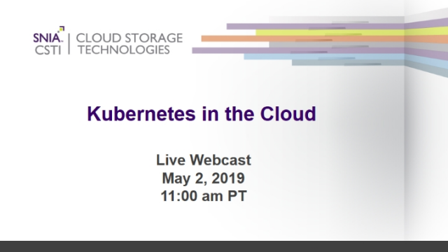 Kubernetes in the Cloud