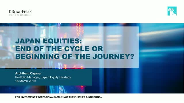 Japan Equity: End of the Cycle or Beginning of the Journey?