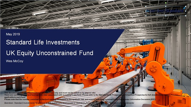 An update on the SLI UK Equity Unconstrained Fund with Wes McCoy
