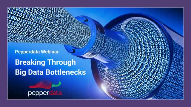 Breaking Through Big Data Bottlenecks
