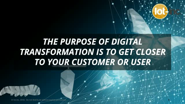 Digital Transformation for Traditional Companies