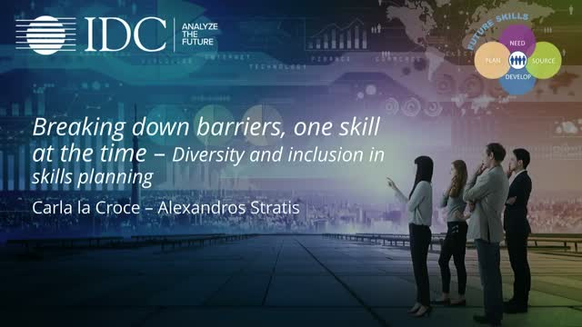 Breaking down barriers, one skill at the time – Diversity&inclusion in skills