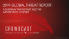 2019 Global Threat Report: Adversary Tradecraft and The Importance of Speed