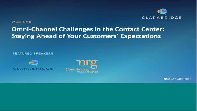 Omni-Channel Challenges in the Contact Center