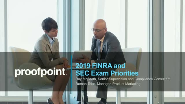 2019 FINRA and SEC Exam Priorities