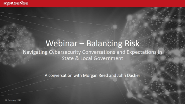 Balancing Cybersecurity Risk for the State of Arizona