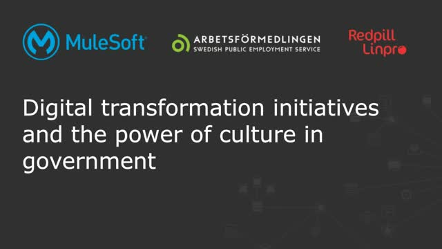 Digital transformation initiatives and the power of culture in government