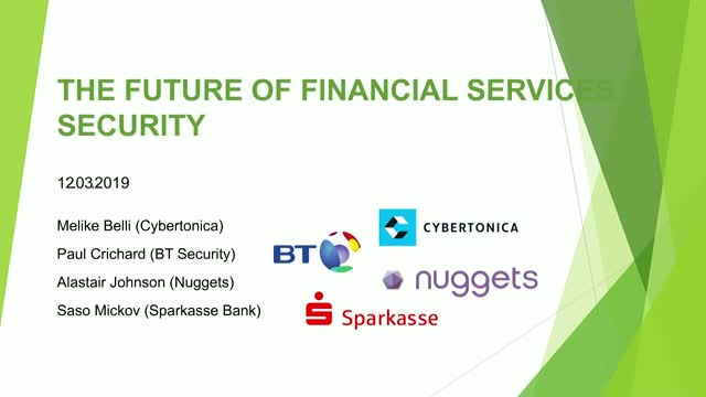 The Future of Financial Services Security