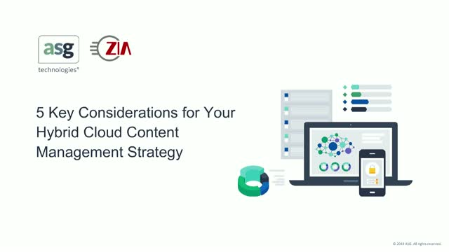 5 Key Considerations for Your Hybrid Cloud Content Management Strategy