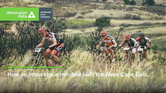Dimension Data – Connecting the world to the Cape Epic