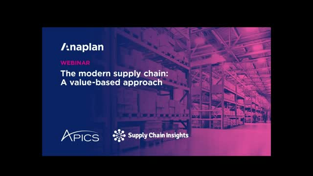 The modern supply chain: A value-based approach