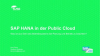 SAP HANA in der Public Cloud