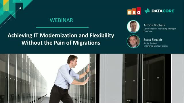 Achieving IT Modernization and Flexibility Without the Pain of Migrations
