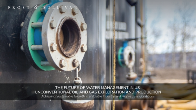 The Future of Water Management in US Unconventional Oil and Gas Exploration
