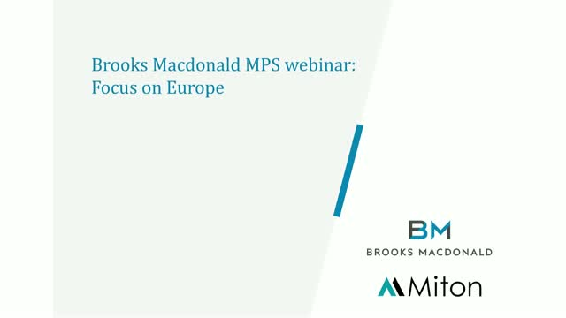 Brooks Macdonald MPS: Focus on Europe