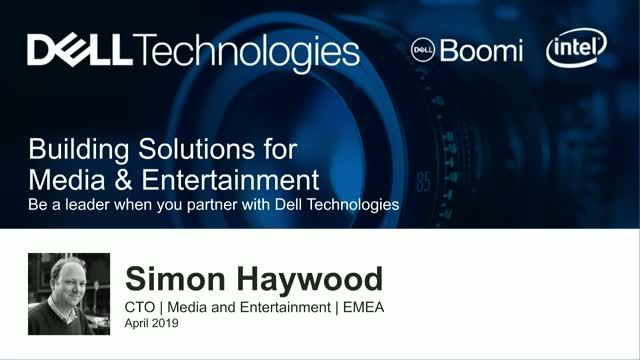 Building Solutions for Media and Entertainment