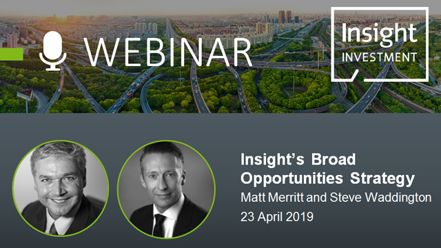 Insight's Broad Opportunities Strategy Review and Outlook | April 2019