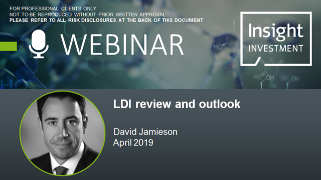 LDI review and outlook | April 2019