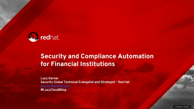 Security and Compliance Automation for Financial Institutions