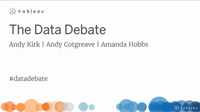 The Data Debate