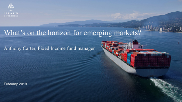 What's on the horizon for emerging markets?