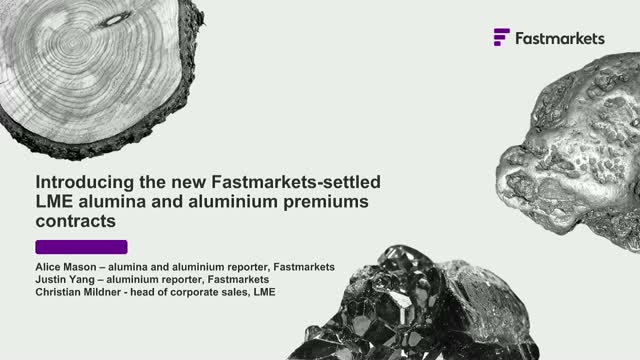 Introducing new Fastmarkets-settled LME alumina and aluminium premium contracts