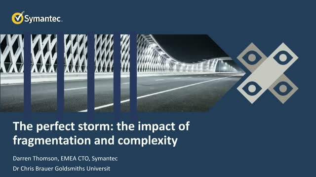 The perfect storm: the impact of fragmentation and complexity