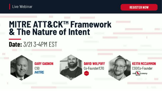MITRE ATT&CK™ Framework & The Nature of Intent