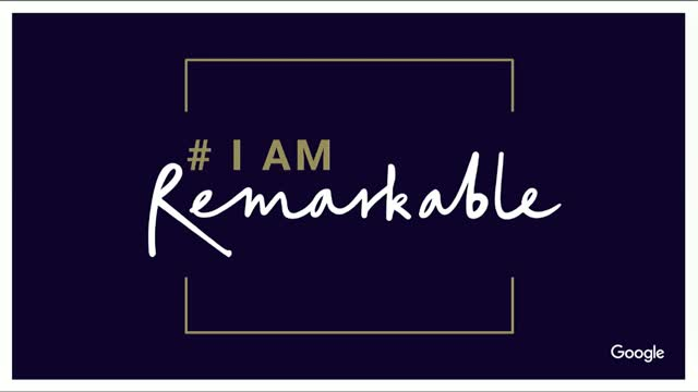 I Am Remarkable: Empowering women and underrepresented groups to speak openly