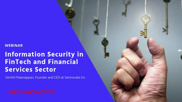 Information Security in FinTech and Financial Services Sector