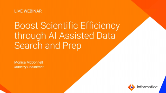 Boost Scientific Efficiency through AI assisted data search and prep