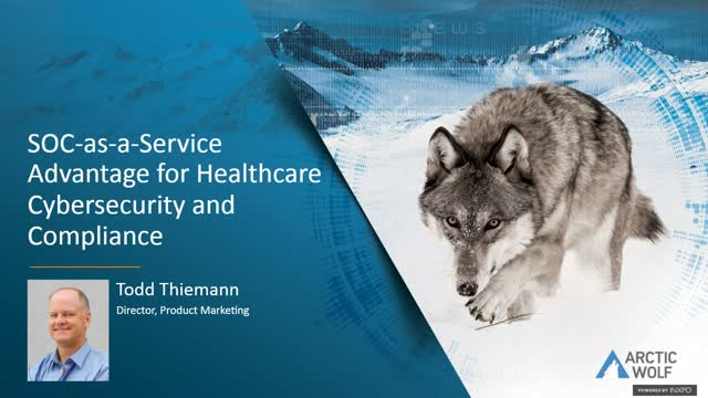 The SOC-as-a-Service Prescription: Healthcare Cybersecurity & Compliance