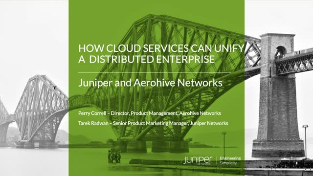 How Cloud Services can Unify a Distributed Enterprise