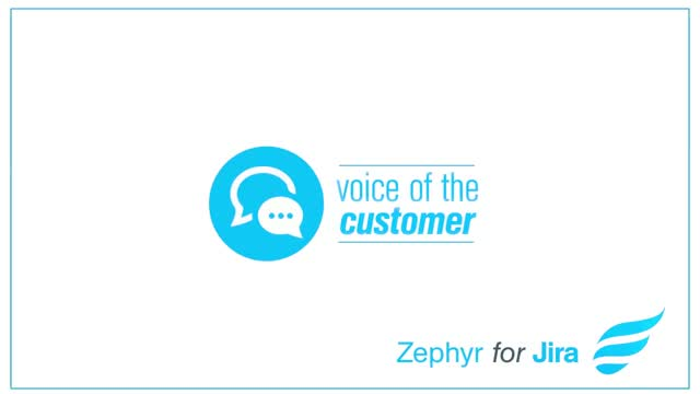 Hear how customers elevate test management with Zephyr!