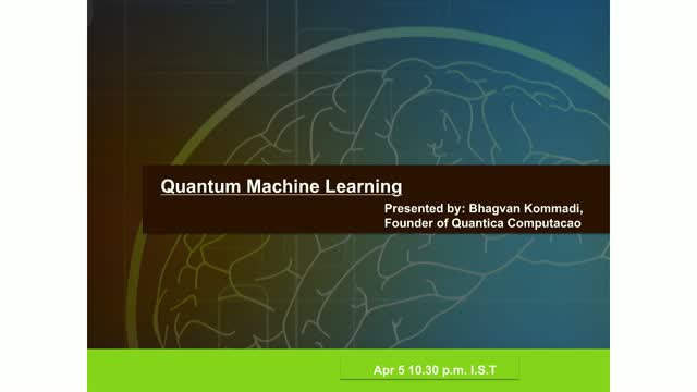 [Ep.5] Quantum Machine Learning
