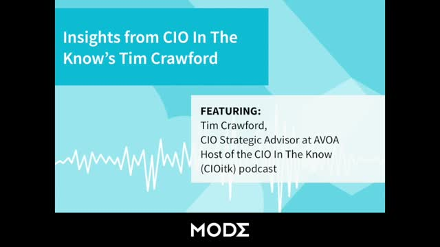 Insights from CIO In The Know's Tim Crawford
