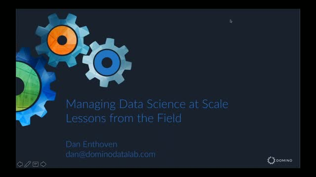 Managing Data Science at Scale