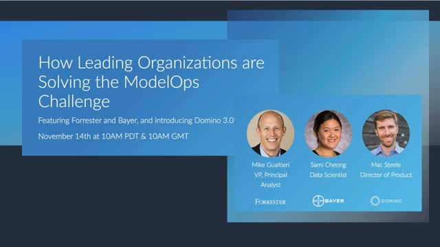 How Leading Organizations are Solving the ModelOps Challenge