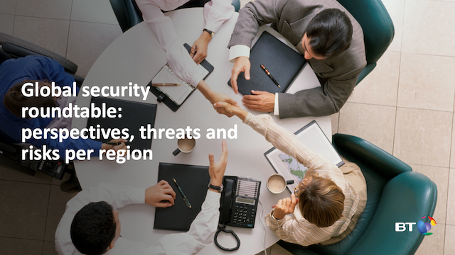Live global security roundtable: perspectives, threats and risks per region