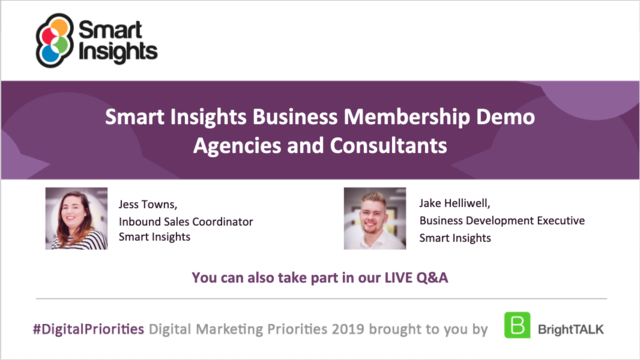 Agency growth and management - Business Membership Demo - Smart Insights