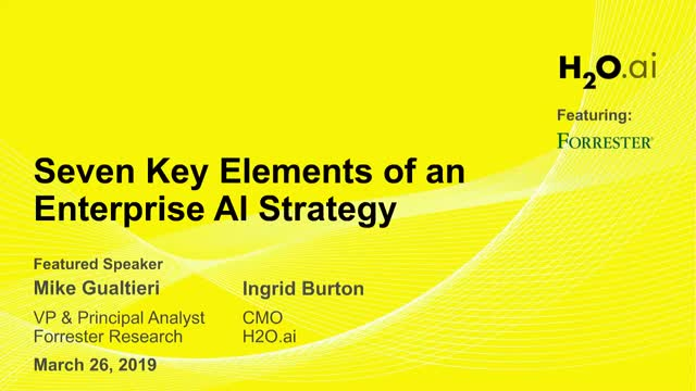 7 Key Elements of an Enterprise AI Strategy