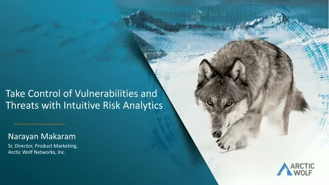 Take Control of Vulnerabilities and Threats with Intuitive Risk Analytics