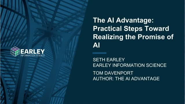 The AI Advantage – Practical Steps Toward Realizing the Promise of AI