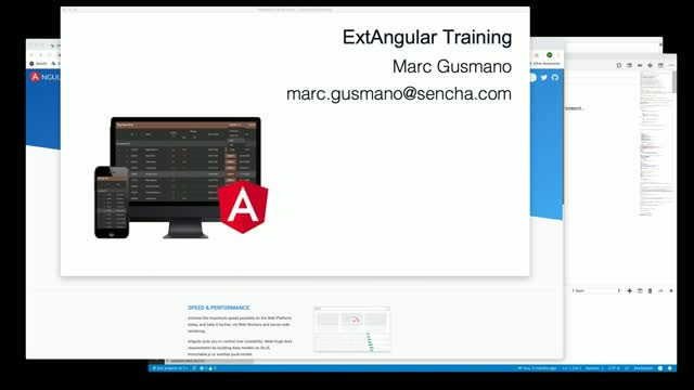 SNC - Sencha Angular Developer Tool Training - ExtAngular