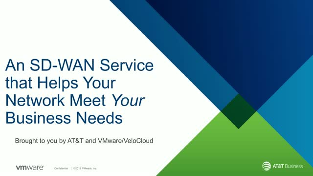 A SD-WAN Service that Ensures your Network Serves your Business Needs