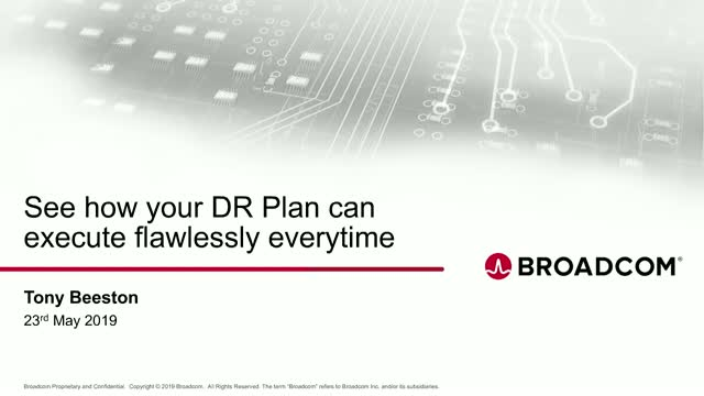 See how your DR Plan can execute flawlessly everytime