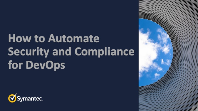 How to Automate Security and Compliance for DevOps