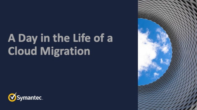 A Day in the Life of a Cloud Migration